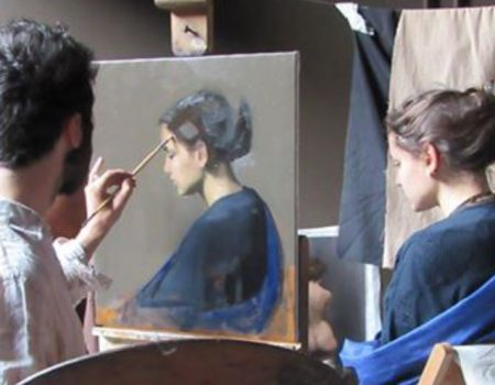 Contemporary portrait painter