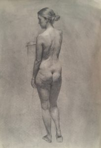 Figure drawing Nicholas chaundy